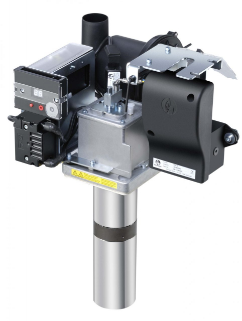 Modulierender Ölbrenner HLM 35 vertikal